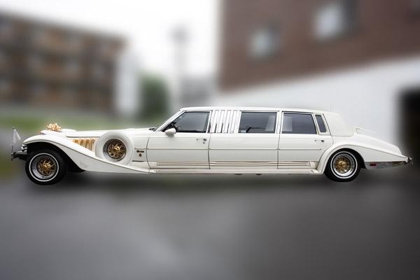 White Phantom Limousine